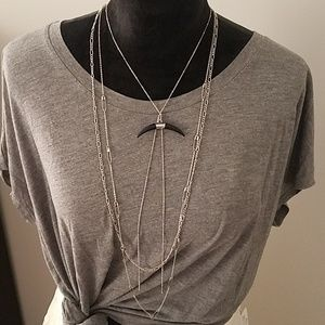 FP Lex Horn Layered Necklace